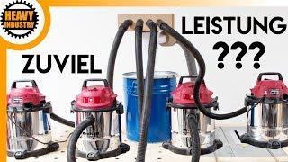 ☢️ ZU VIEL ☢️ Saugleistung für EINEN Zyklon? Kann man zuviel Saugleistung haben?