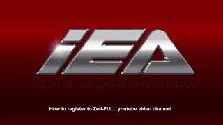 How to register to Zed-FULL youtube video channel.