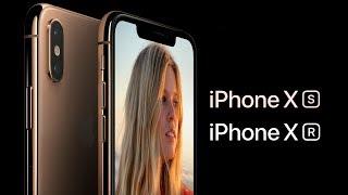 Презентация iPhone XS, XS Max и XR на русском...