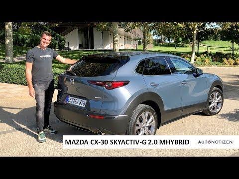 Mazda CX-30 Skyactiv-G 2.0 M Hybrid 2019: Review, Test, Fahrbericht