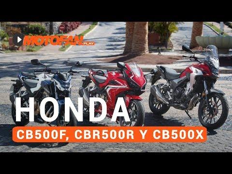 Vídeos de la Honda CB500 F