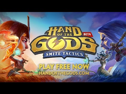 Hand of the Gods: SMITE Tactics - Reveal Trailer thumbnail