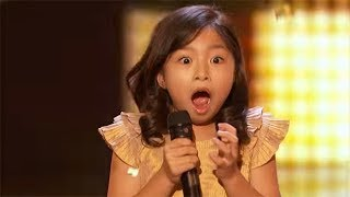 Celine Tam   ALL Performances America's Got Talent 2017