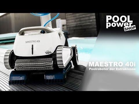 Poolroboter Dolphin Maestro 40i - Poolroboter der Extraklasse
