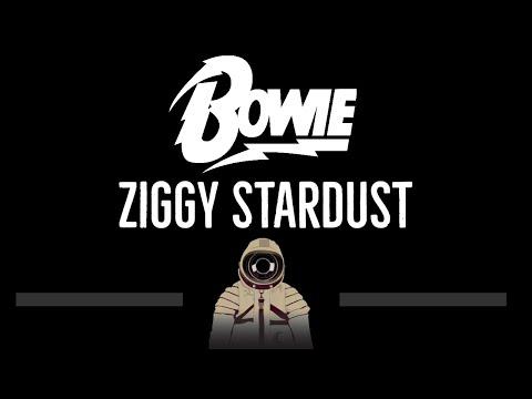 David Bowie • Ziggy Stardust (CC) 🎤 [Karaoke] [Instrumental Lyrics]