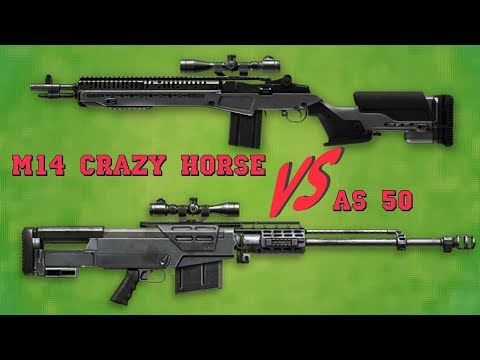 warface: M14 Crazy Horse VS AS50