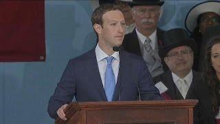 FACEBOOK INC. - Harvard ehrt Mark Zuckerberg