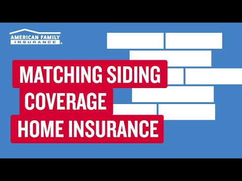 Damaged Siding and Matching Siding Coverage | American ...
