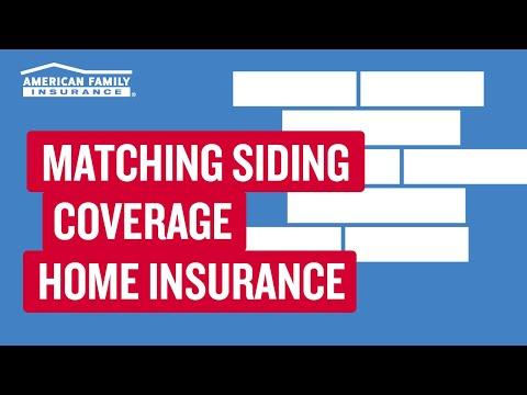 Damaged Siding and Matching Siding Coverage | American ...