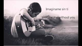 imaginame sin ti english version