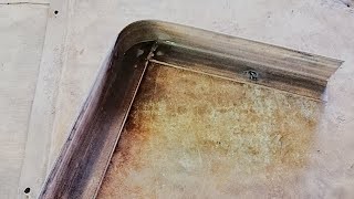 How to Bend Angle Bar  90° w/ Round Corner