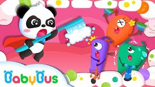 Bad Germs Attack Baby Panda's Teeth | Doctor Pretend Play | Kids Good Habits | Baby Song | BabyBus