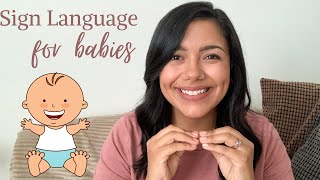 Sign Language for babies | 15 Basic signs to teach your baby or toddler || Basics and Tips