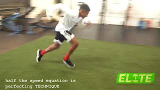 Half the Speed Equation is Perfecting TECHNIQUE