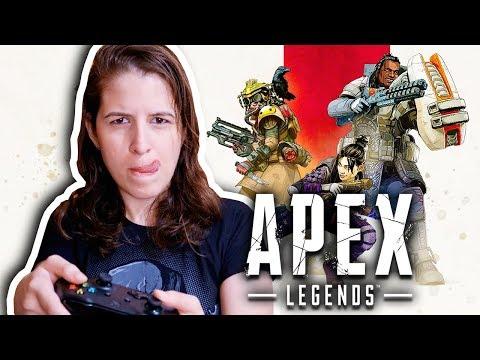 APEX LEGENDS: CONFERINDO O NOVO BATTLE ROYALE 💣 (XBOX ONE X)