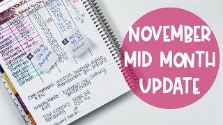 Budget With Me: November Mid Month Check In | E.Michelle