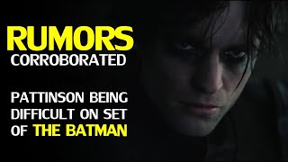 The Batman: Is there truth behind the rumors of Robert Pattinson being difficult on the set?