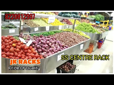 Vegetable and Fruit Rack Sivagangai
