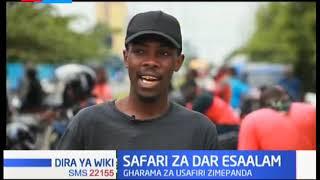 Gharama za usafiri zimepanda Dar-es-Salam baada ya mvua kubwa