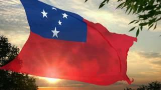 Flag and anthem of Samoa