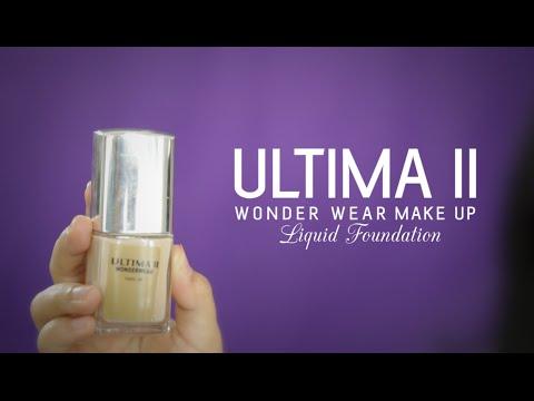 60 Second Report : Ultima II Wonder Wear Makeup Liquid Foundation