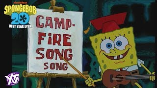 SpongeBob Iconic Moment: Campfire Song Song !