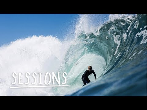 Ideal surf condition session at Margaret River