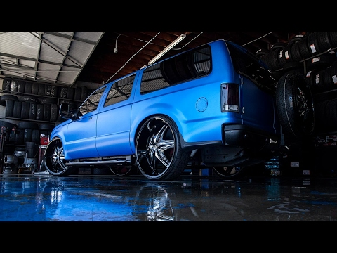 Big Blue Excursion | Diablo Wheels Elite G2