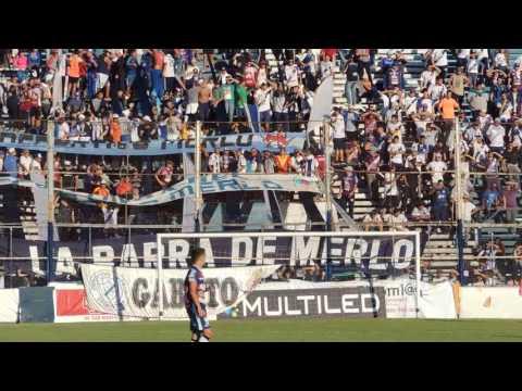 """""""Deportivo Merlo su hinchada sigur alentado ganes o pierdas"""" Barra: La Banda del Parque • Club: Deportivo Merlo"""