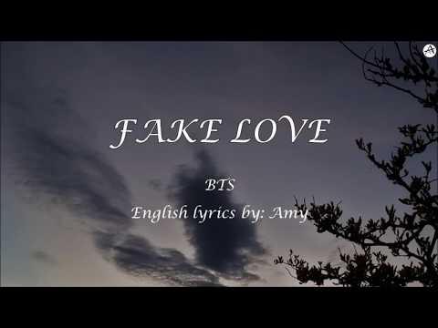 FAKE LOVE - English KARAOKE - BTS