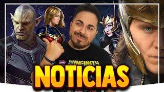 ALUCINANTE: ¡Trailer de BLACK WIDOW! ¿Capitana Marvel 2 INVASIÓN SECRETA? ¡Loki será MUJER! y más...