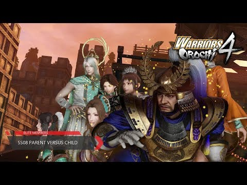 Warriors Orochi 4 - (SS-08) - Parent Versus Child (Chaotic Difficulty)