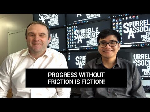 Edmonton Business Coach | Progress without Friction is Fiction