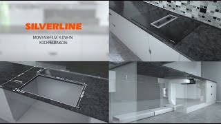 SILVERLINE FLOW-IN Kochfeldabzug Montagevideo