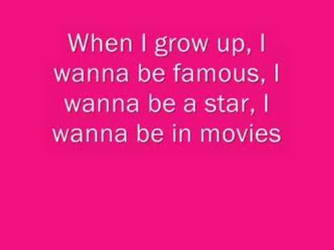 When I Grow Up - Pussycat Dolls Lyrics Mp3