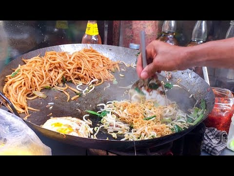Asian Street Food, Fast Food Street in Asia, Cambodian Street food #231