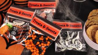 Halloween Candy - Treat Bags - Personalized DIY Favor Bags - Shindigz