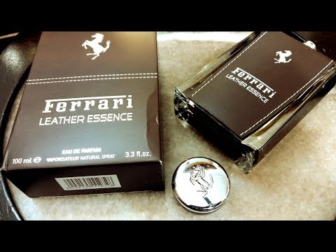Ferrari Leather Essence Fragrance Review (2013)