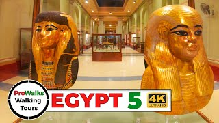 Egyptian Museum 2nd Floor Walking Tour - Tutankhamun Exhibit!