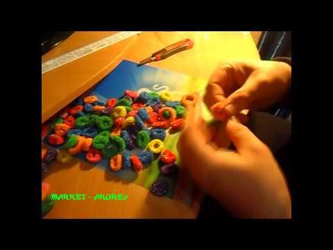 Резинки для волос разноцветные 100шт # 27 AliExpress