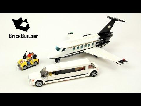Vidéo LEGO City 60102 : Le service VIP de l'aéroport