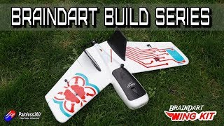 BrainDART FPV Wing Build: Maiden flight!