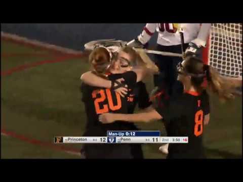 Highlights: Women's Lacrosse at Penn - 4/17/19