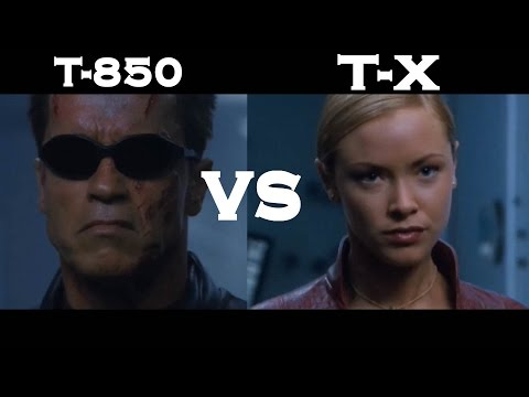 Terminator 3 ~ T-850 vs T-X   [FULL HD]