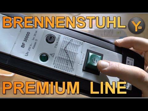 Brennenstuhl Premium Line 30.000A 6-fach Steckdosenleiste mit Überspannungsschutz