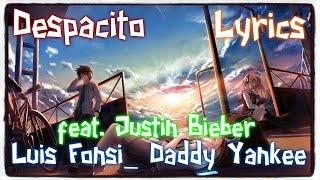 【Nightcore】→ Despacito || Luis Fonsi_ Daddy Yankee ft. Justin Bieber ✘ Lyrics