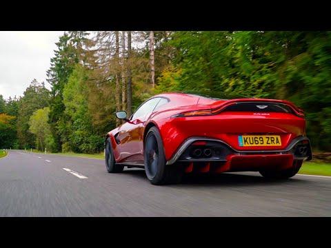 New MANUAL Aston Martin Vantage AMR - First Drive