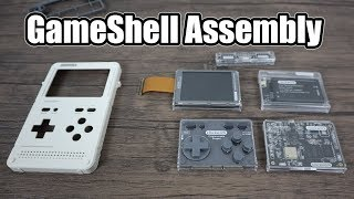 GameShell Assembly   Modular Handheld Retro Gaming Device