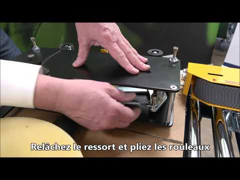 CT 103 SD: Nettoyer le couteau