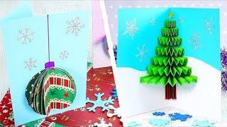 7 Creative Homemade Christmas Cards   Christmas Paper Crafts   Craft Factory